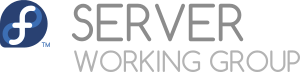 Fedora Server Working Group Logo