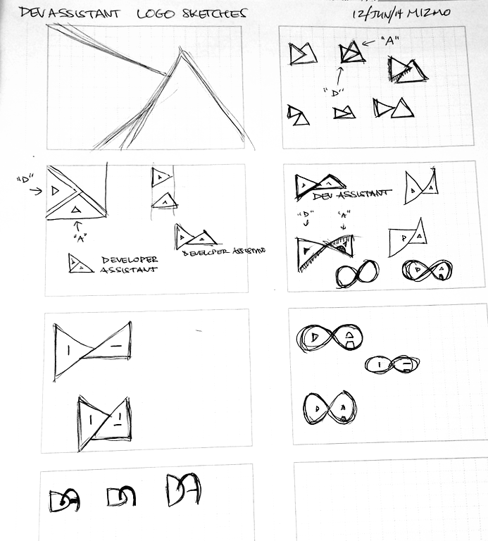 devassistant-logo-sketches