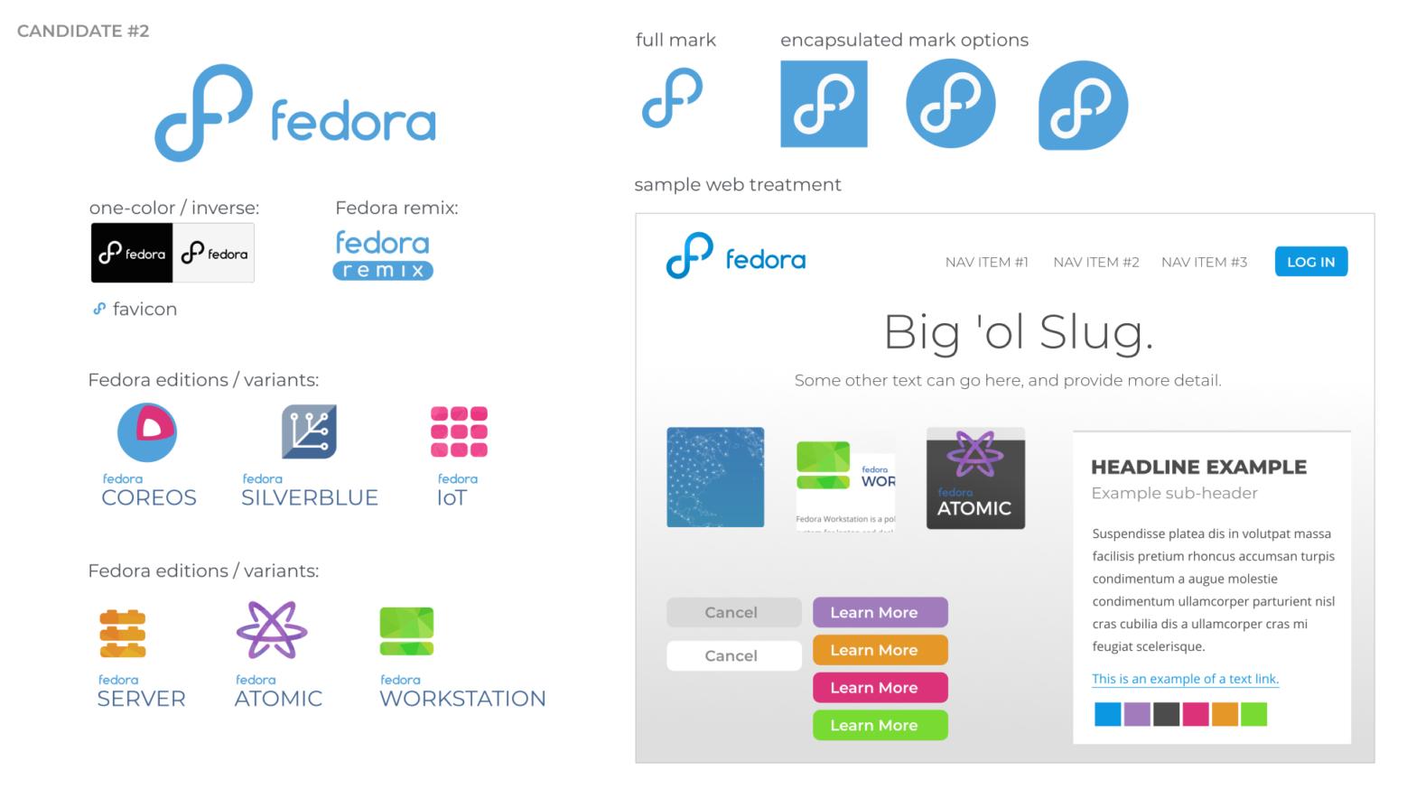 Fedora Linux търси мнението ви за новото си лого 12